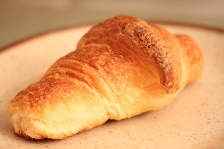 Croissant from La Moulin de la Vierge