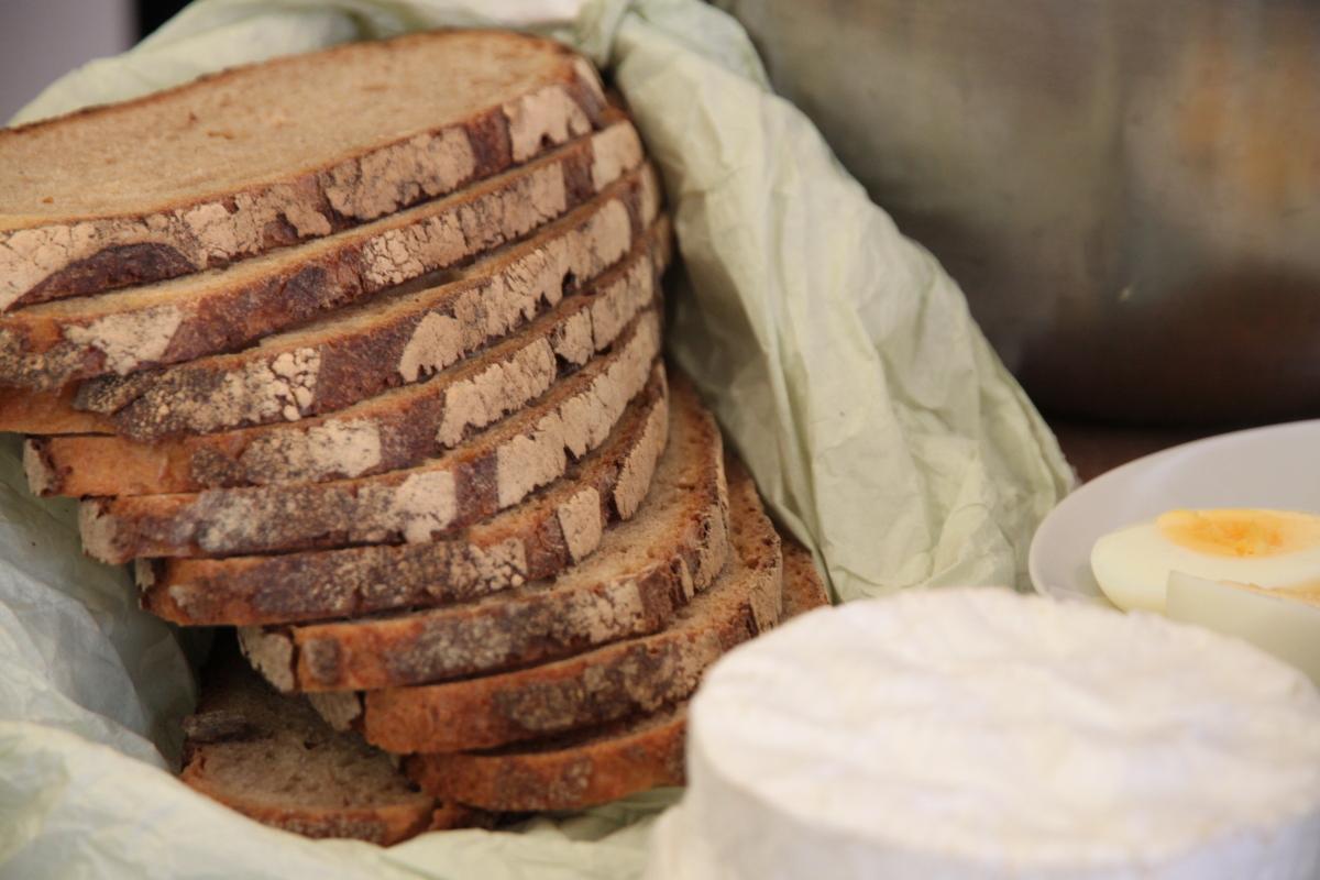 Delicious honest bread.