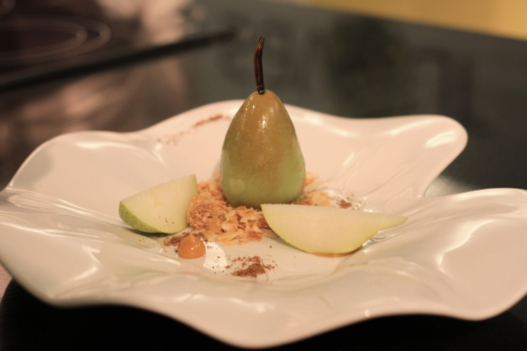 Pear Tarte Tatin by The Tippling Club