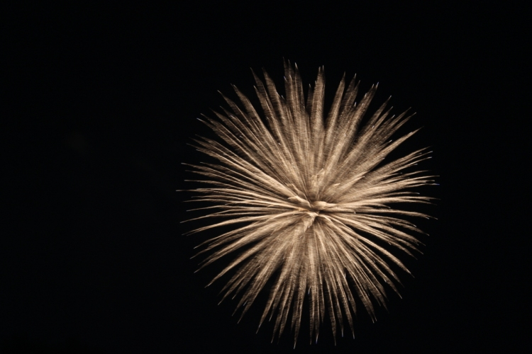 Who can walk away from fireworks?